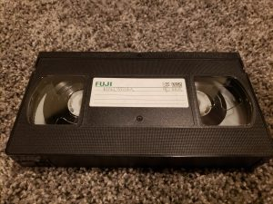 VHS Game Tape