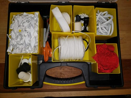 DIY Lacrosse Sideline Kit